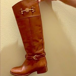 Tory Burch Nadine Riding Boots Size 5